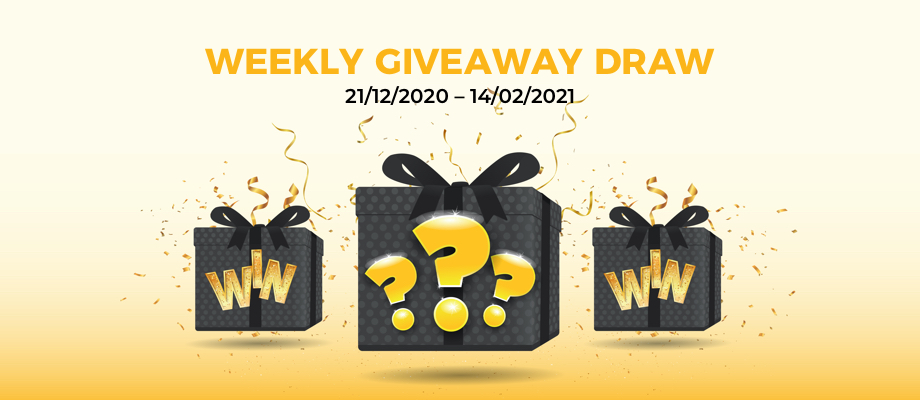 Weekly Giveaway Event